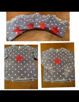 Sparkley Star Sweatshirt