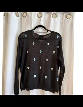 Mini Skull Sweater