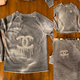 Distressed Dripping CC Pullover