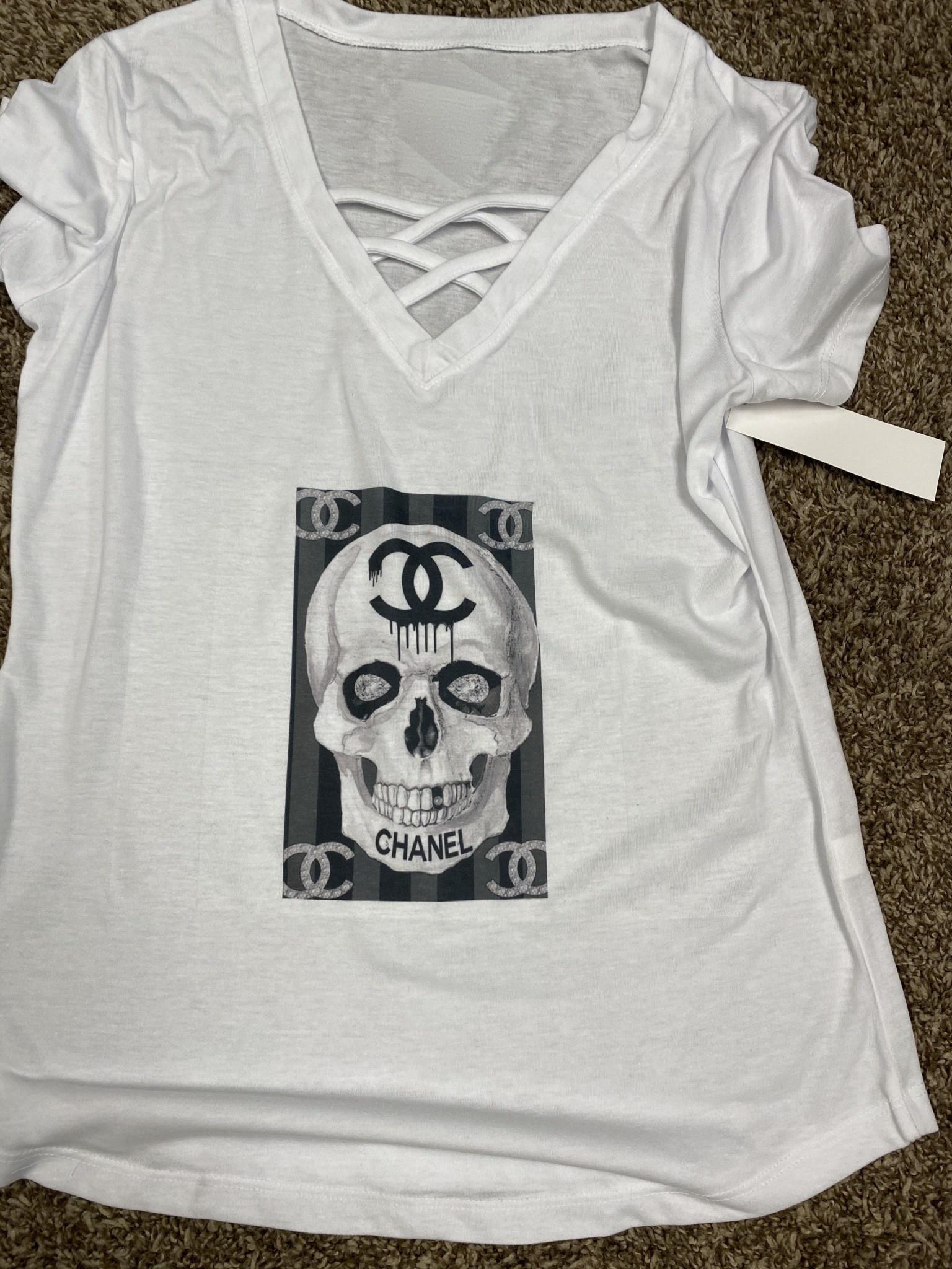 Designer Inspired Criss Cross Tee Shirts