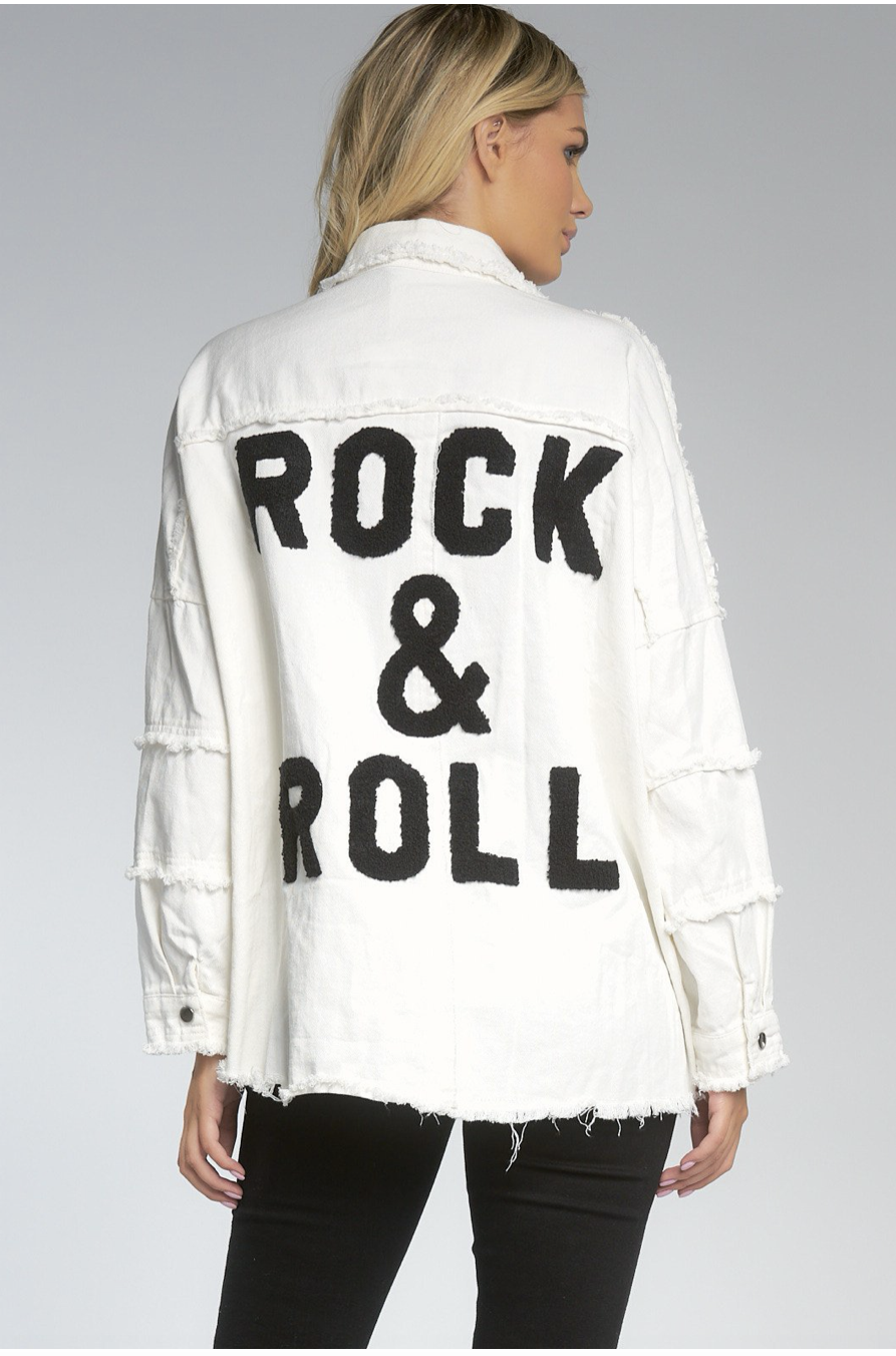 Rock & Roll Denim Jacket