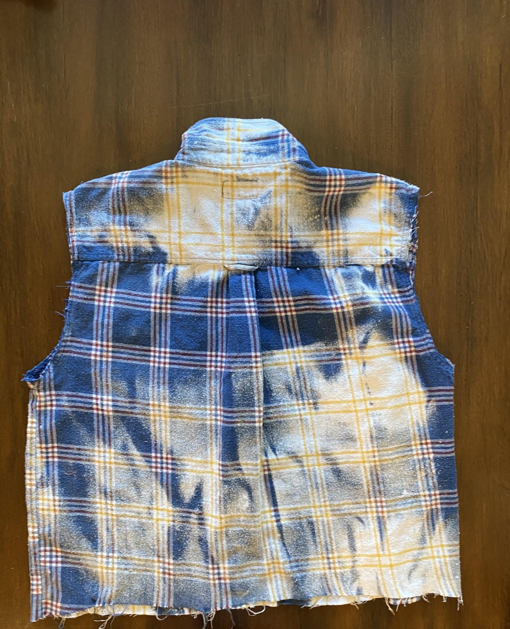 Vintage Bleached Flannels