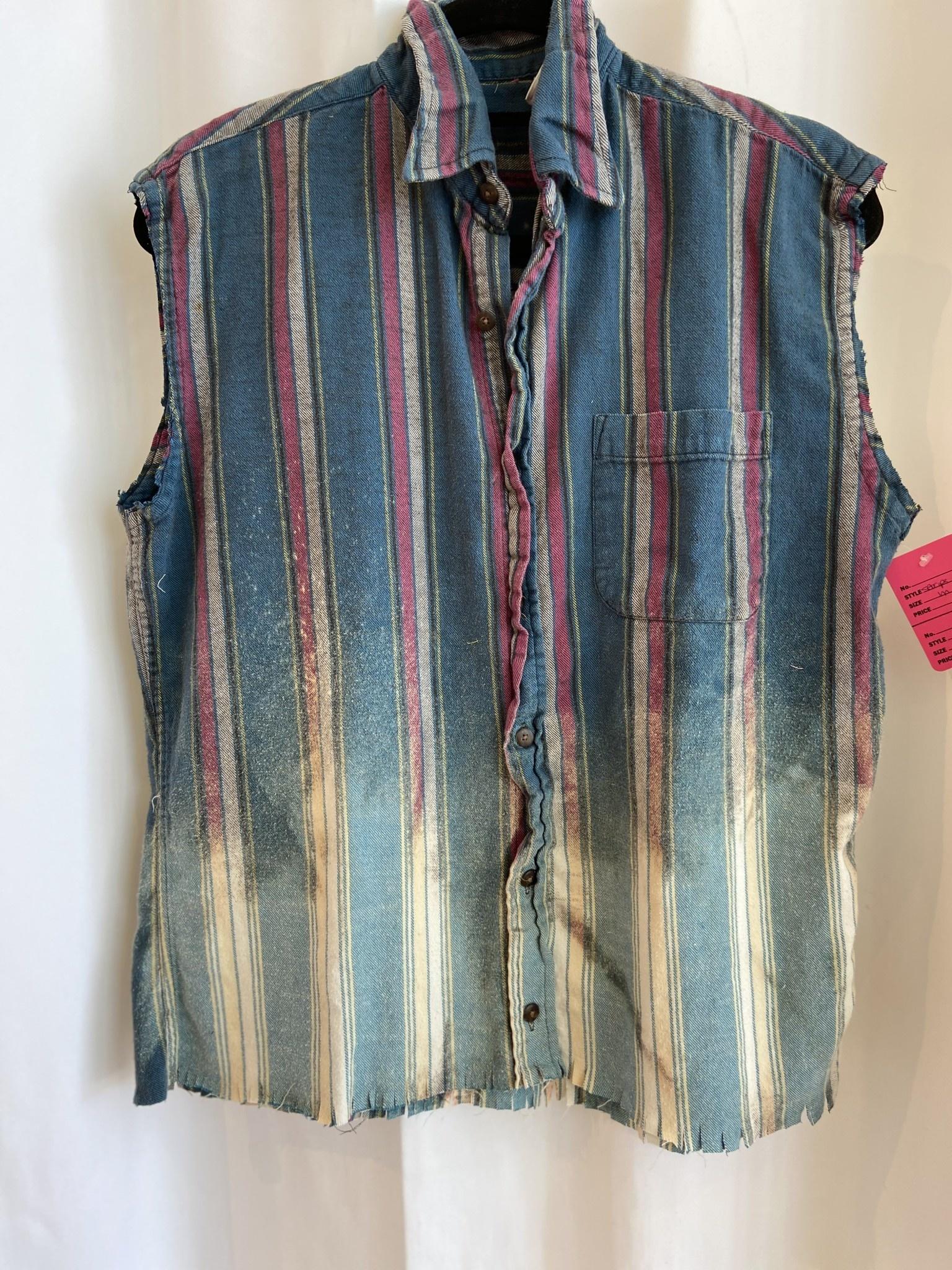 Fringe Bottom Vintage Flannel
