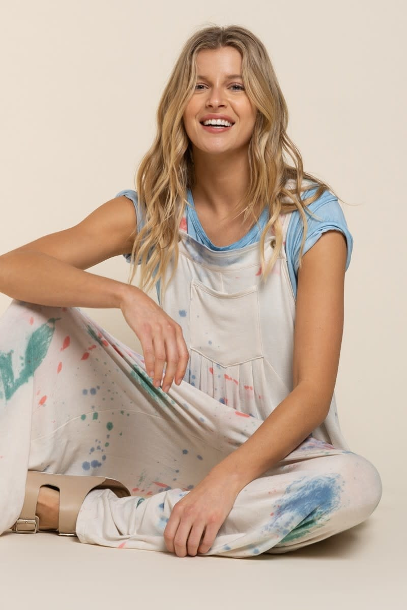 Dip Dyed Overalls