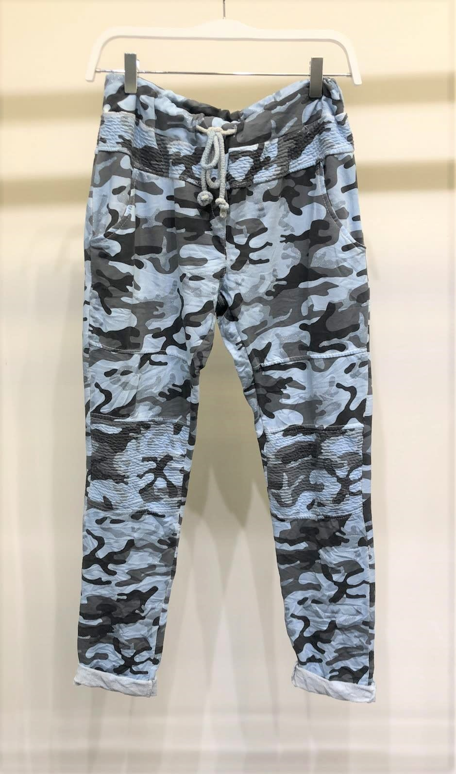 Camouflage Motto Jogger