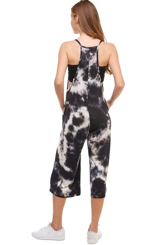 Loose Fit Tie Dye Jumpsuit