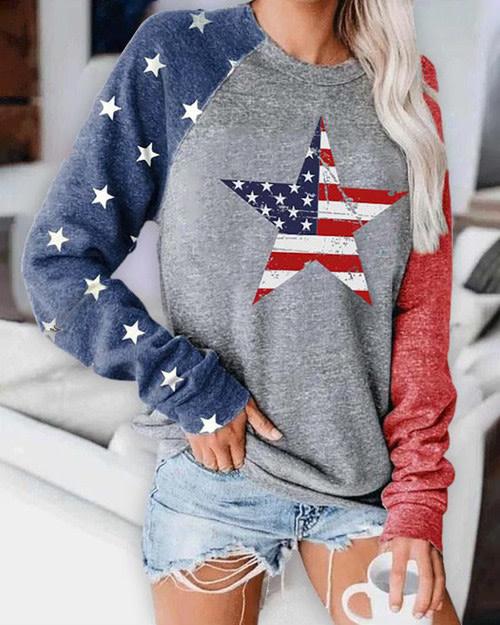 Star Flag Sweatshirt