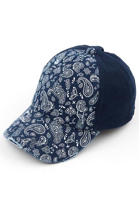 Bandana Ponytail Hat