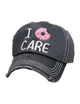 I Donut Care Vintage Hat