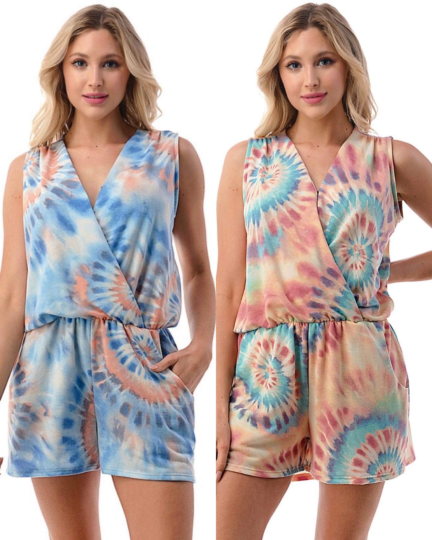 Surplus Romper with Pockets