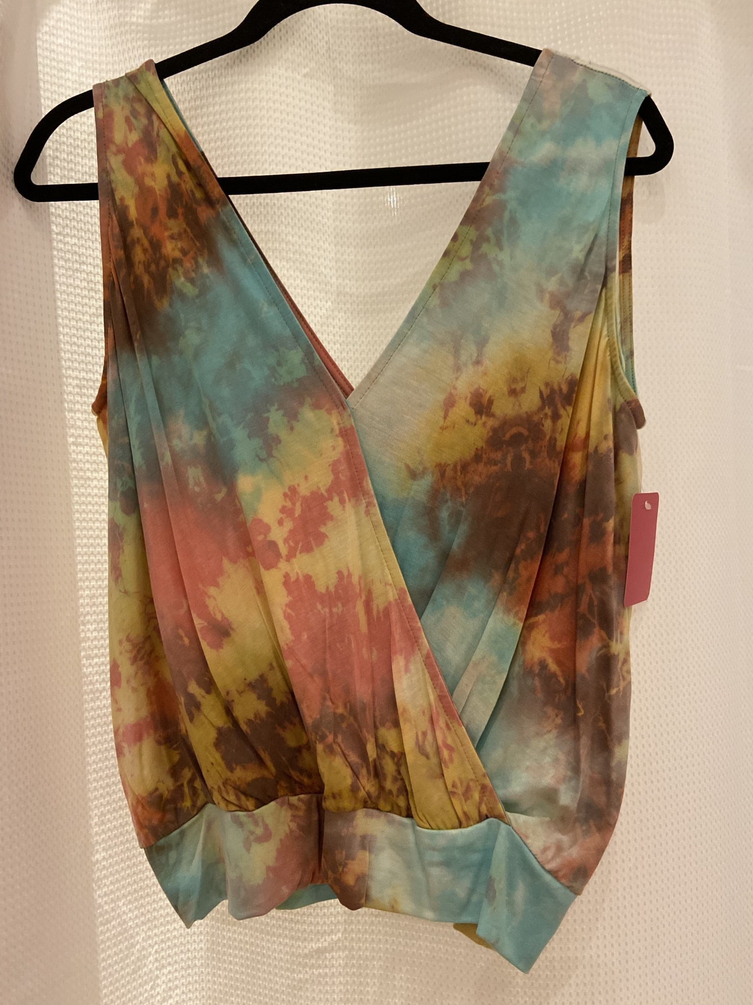 Crossover Banded Top