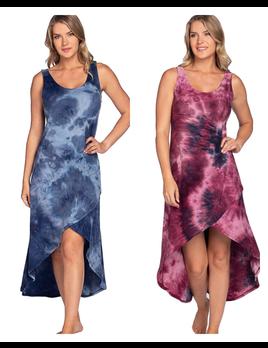 Hi Lo Tie Dye Dress
