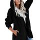 Soft Hooded Sherpa Cardigan