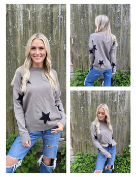 Star Graphic Sweater