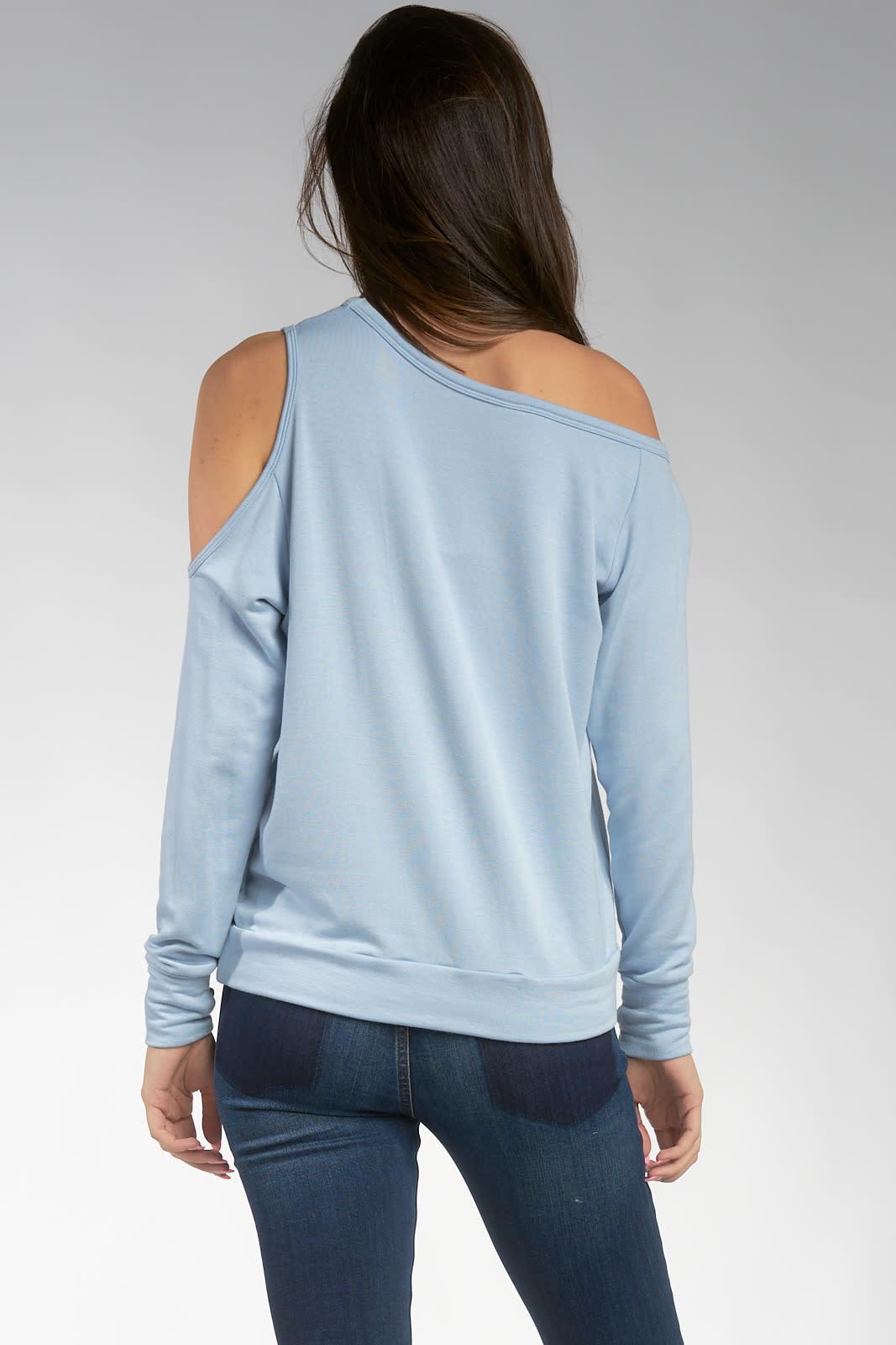 Long Sleeve Off Shoulder Top