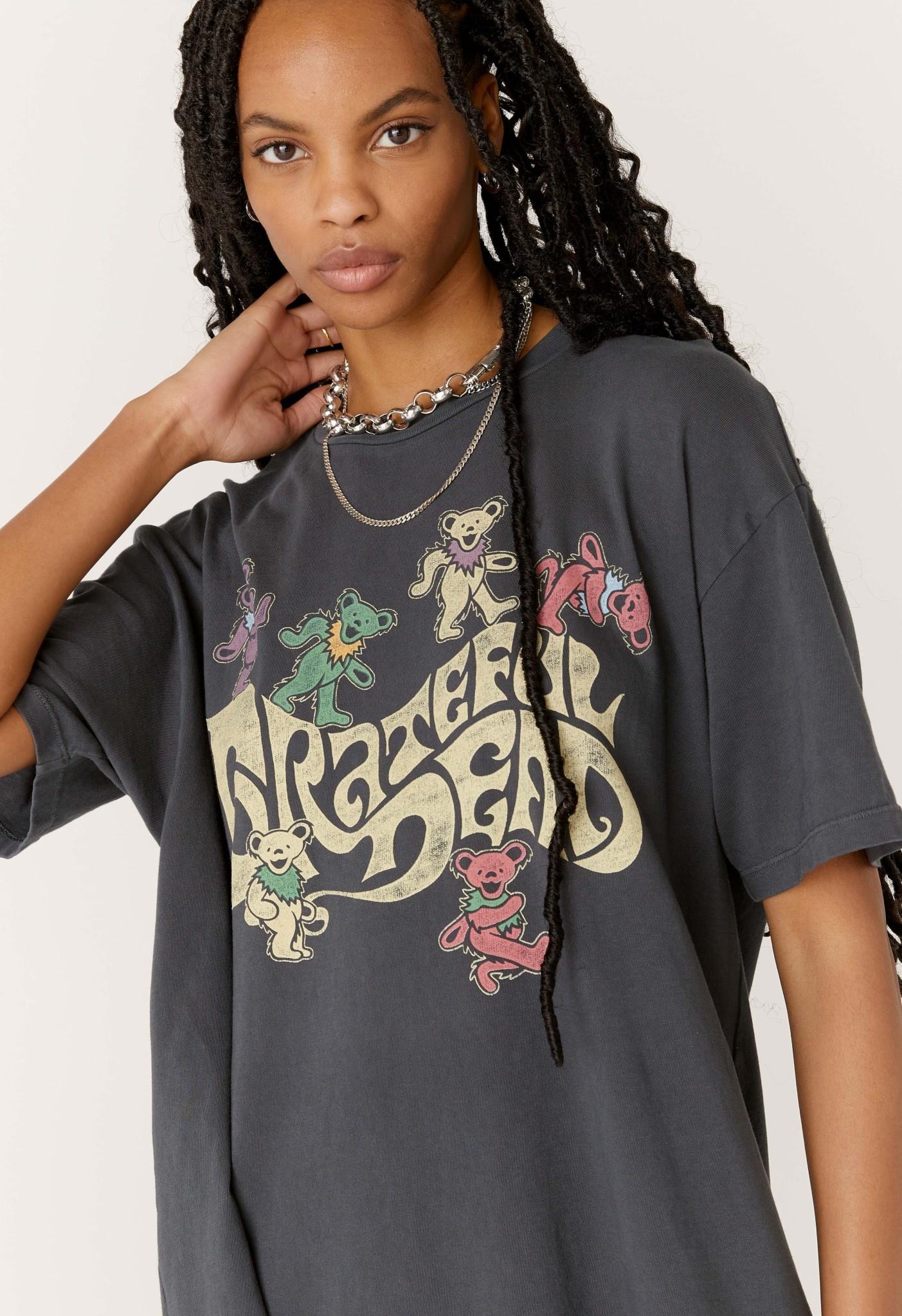 Grateful Dead Bear T Shirt Dress
