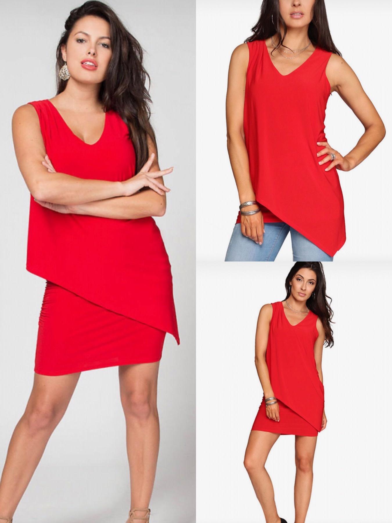 Sleeveless Dress or Tunic