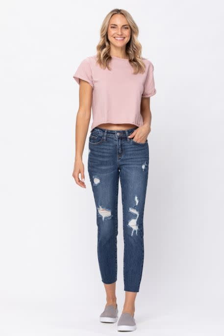 Mid Rise Vintage Cut Jeans