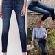 High Rise Crop Skinny Jean