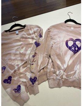 Designer Tie Dye Bandana Sweatshirts