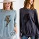 Leopard Lightning Bolt Sweatshirt