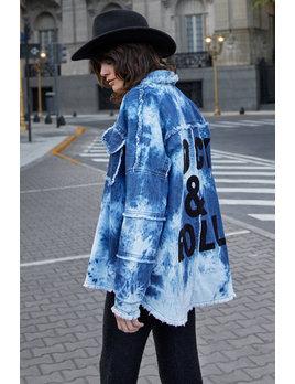 Rock & Roll Tie Dye Jacket