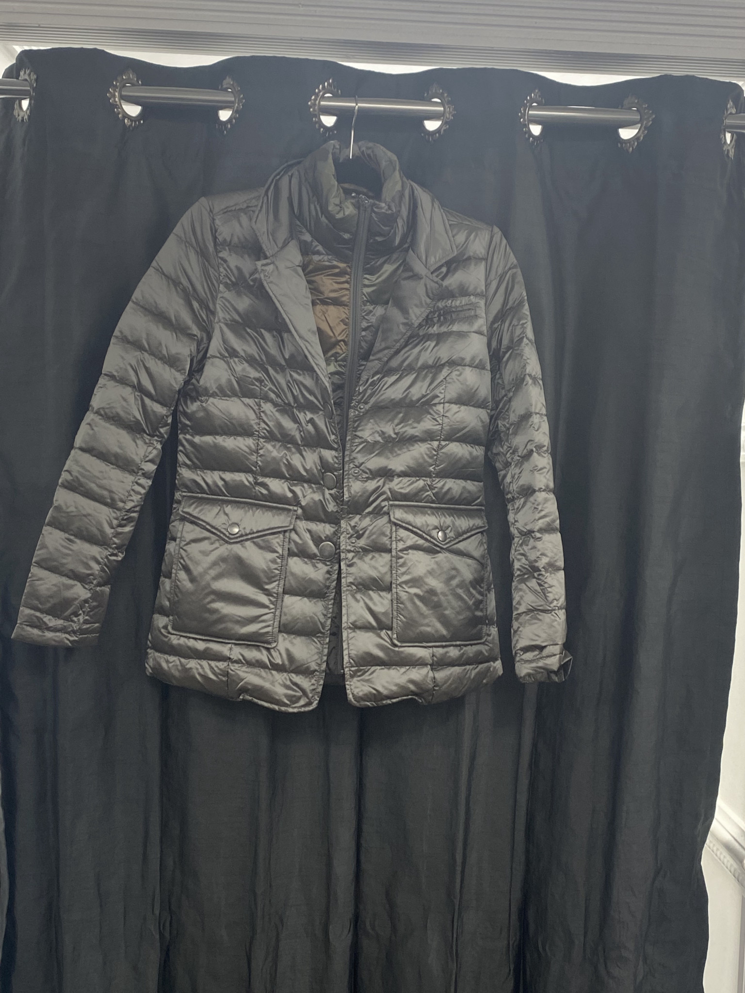 Double Quilted Lightweight Down Jacket