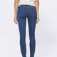 High Rise Stone Wash Skinny Jeans