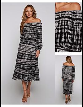 Geoprint Dress