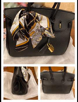 Fashion Handbag with Scarf