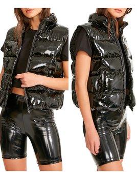 Liquid Puffer Vest