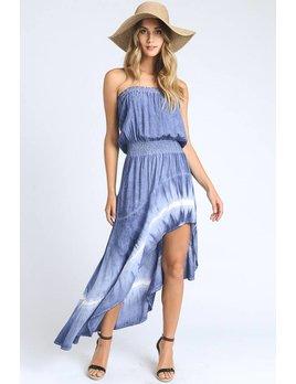 Tie Dye Hi-Lo Dress
