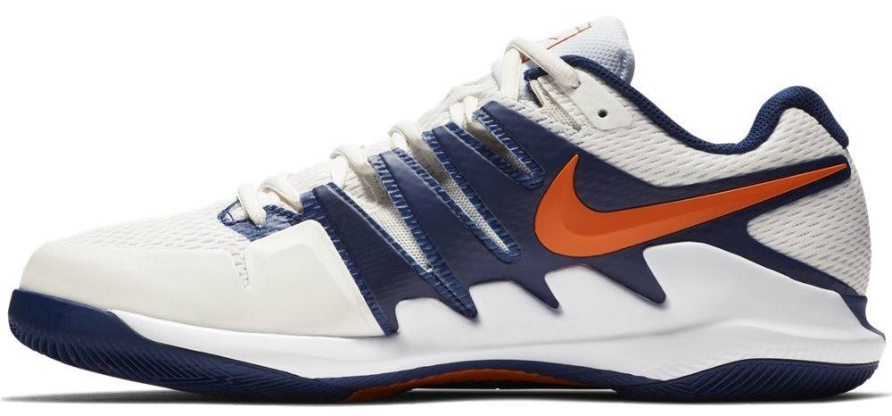 new product 8acff 3e9f2 ... Nike Men s Zoom Vapor X Tennis Shoes Phantom White  Blue ...