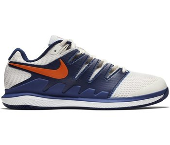 Nike Men's Zoom Vapor X Tennis Shoes Phantom White/ Blue Void
