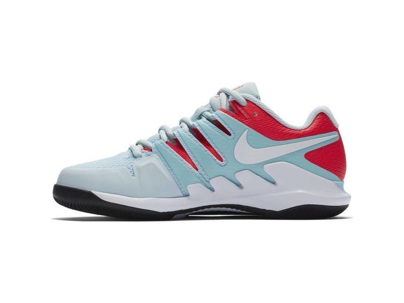 Nike Women's Air Zoom Vapor X HC Blue/White Tennis Shoes