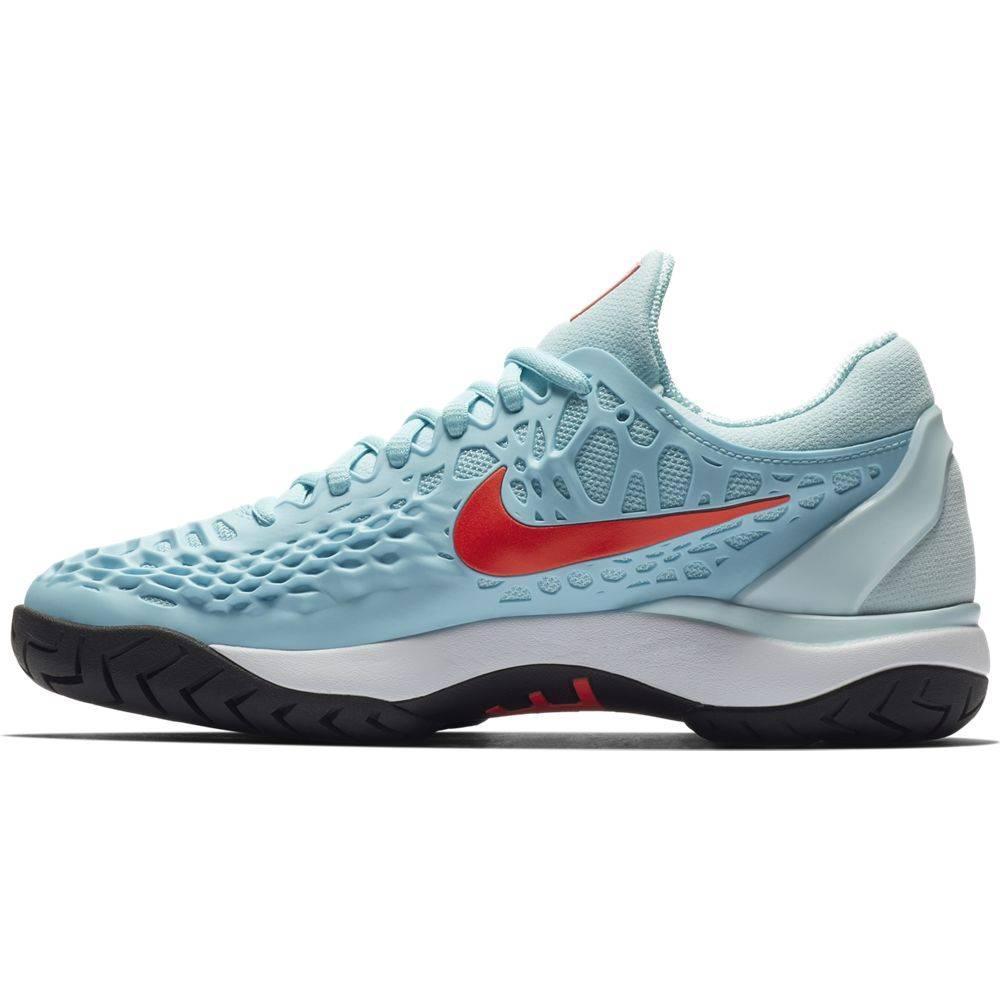 717d676b89904 Zoom Cage 3 HC Blue Crimson Women s Shoe - Tennis Topia - Best Sale ...