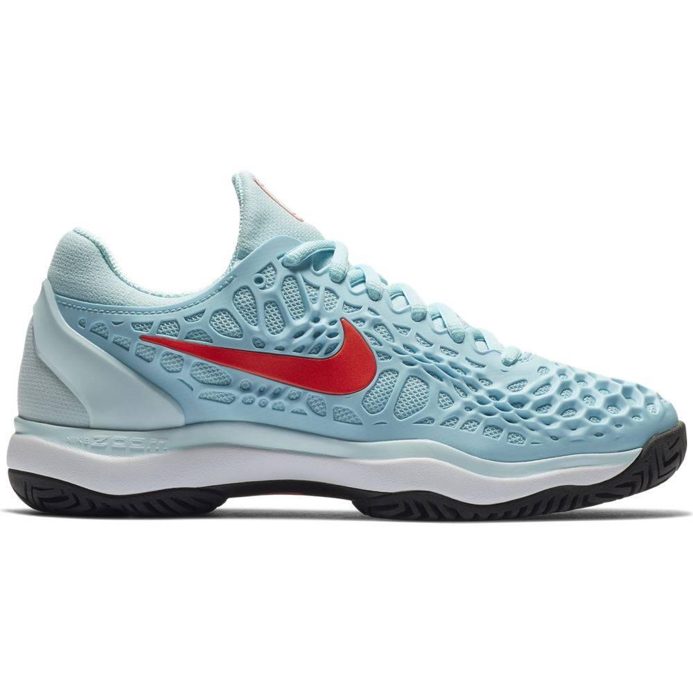43e863f6fbef34 Zoom Cage 3 HC Blue/Crimson Women's Shoe - Tennis Topia - Best Sale ...
