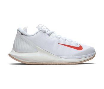 Nike Women's Court Air Zoom Zero Tennis Shoe White/Phantom