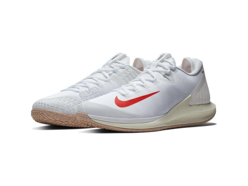 Nike Men' Court Air Zoom Zero Tennis Shoe White/Phantom