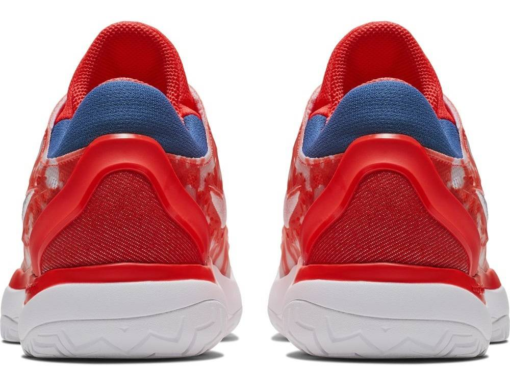 0ad21420a0 Zoom Cage 3 PRM Crimson Red White Women s Shoe - Tennis Topia - Best ...