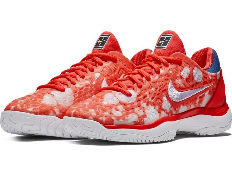 Nike Zoom Cage 3 HC PRM Crimson/White Women's Shoe