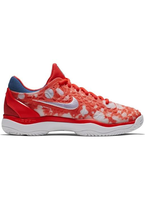 Nike Zoom Cage 3 PRM Crimson Red/White Women's Shoe