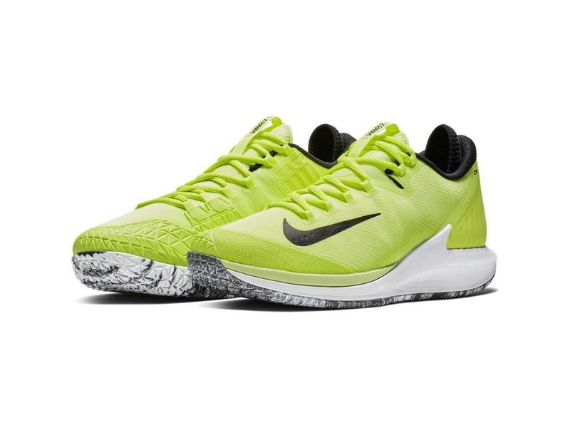 Nike Court Air Zoom Zero HC Premium Volt/Black Men's Shoe
