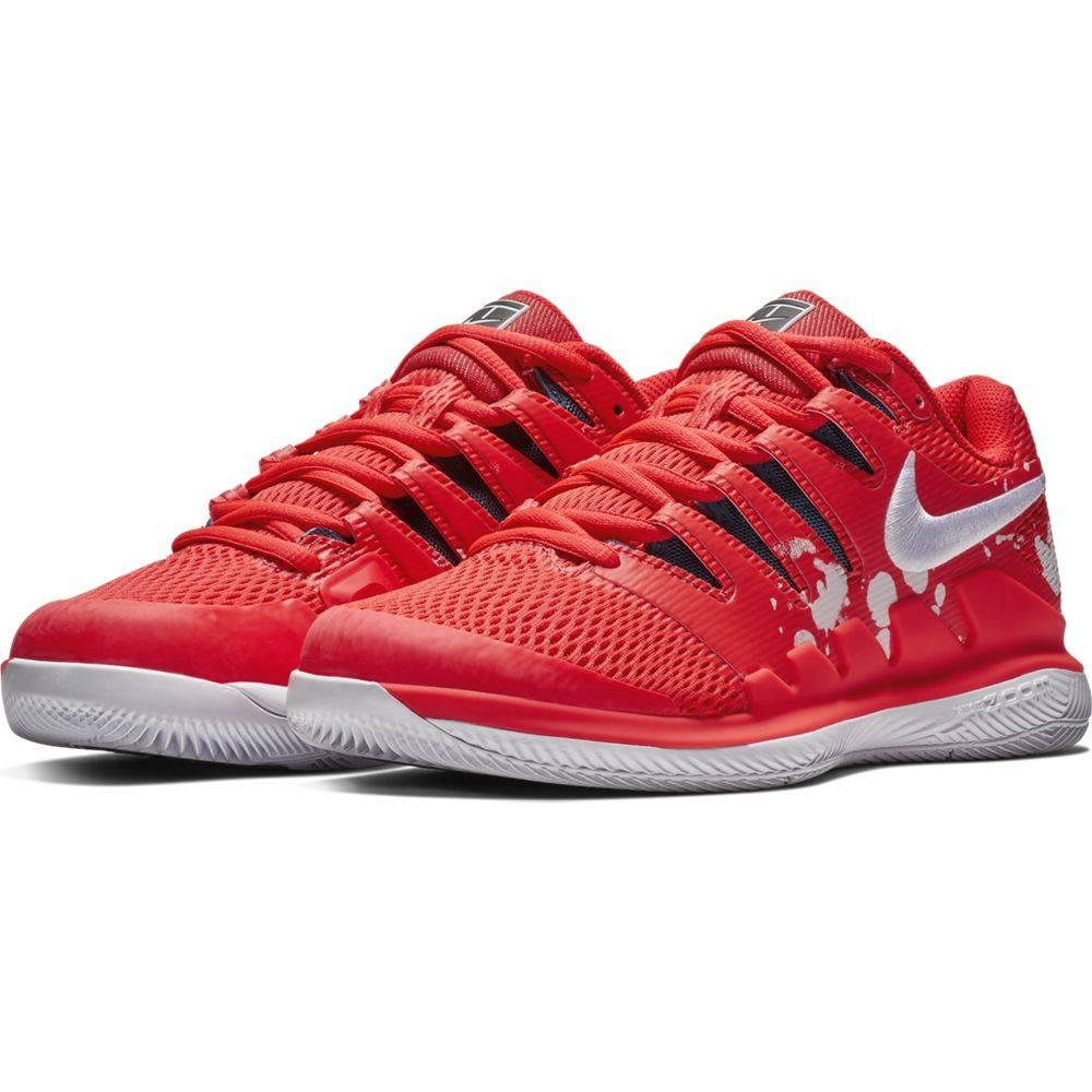 Zoom Vapor X Hc Crimson White Women S Shoe Tennis Topia