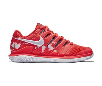Nike Zoom Vapor X Crimson/White Women's Tennis Shoes