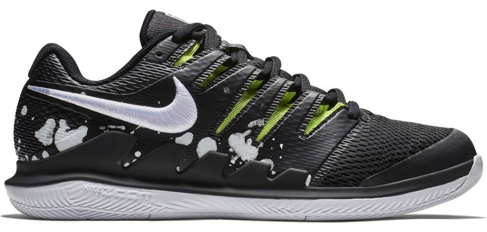 best sneakers 9b3ae 1e9f2 ... Nike Zoom Vapor X PRM Black Volt Men s Tennis Shoes