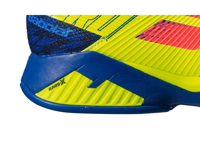 Babolat Propulse Rage Blue/Yellow Men's Shoes