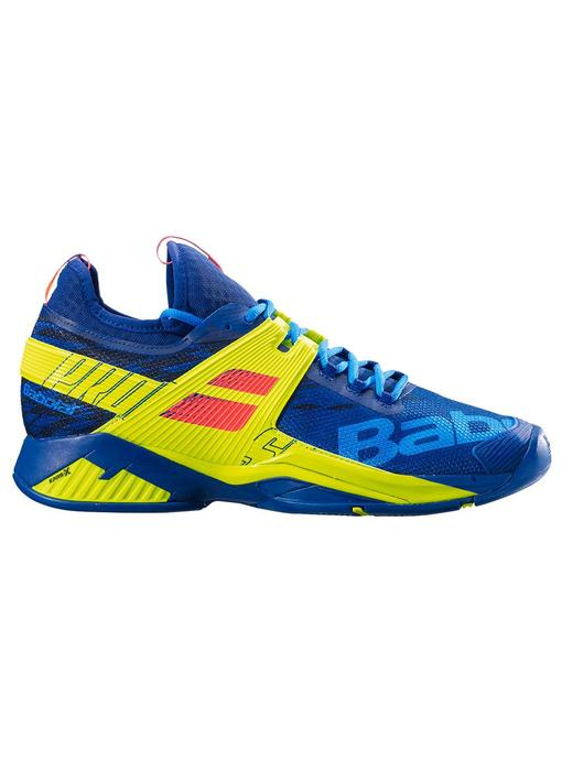 Babolat Propulse Rage Blue/Yellow Men's Shoes