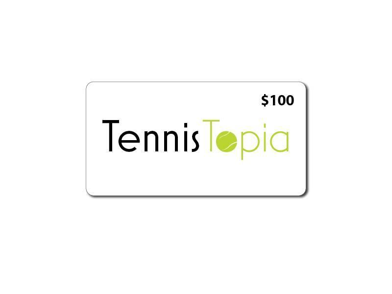 TennisTopia Gift Card  $100