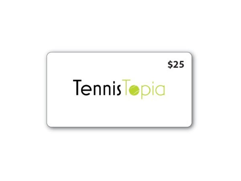 TennisTopia Gift Card $25